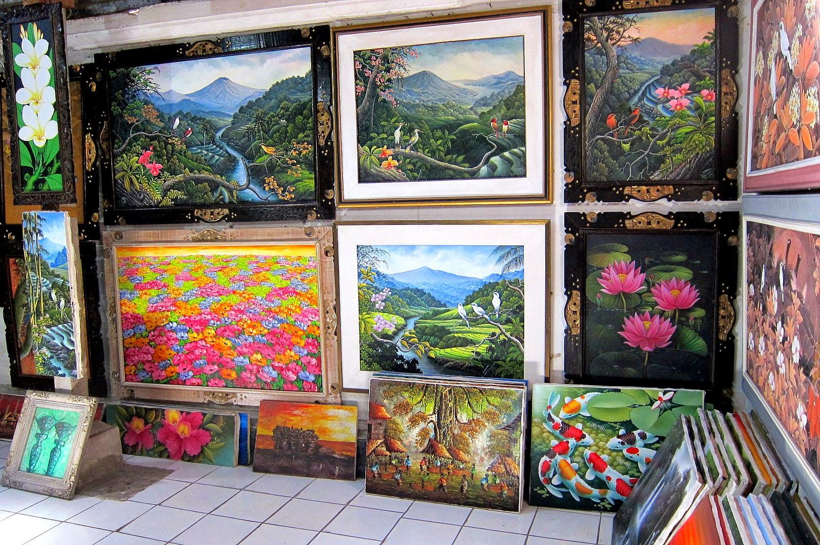 Shopping Art Village Tour Bali Oka Driver